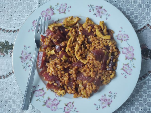 Kaszotto curry