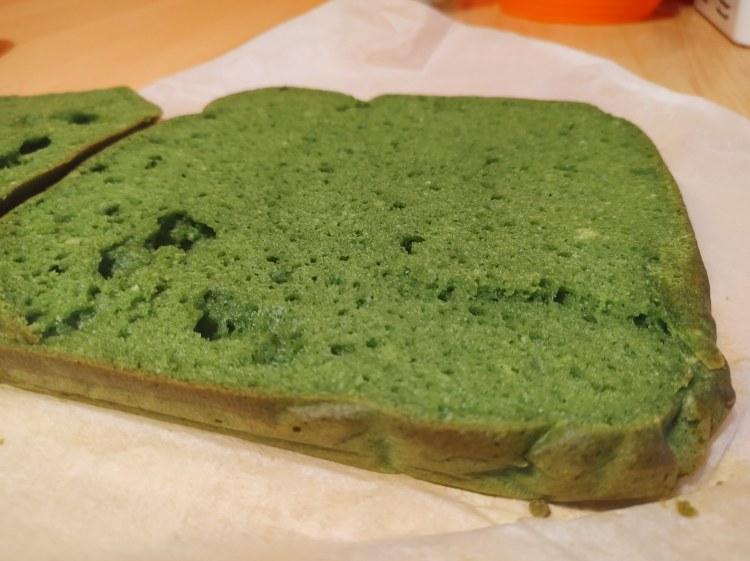 fit ciasto leśny mech z fit kremem bez masła i owocami