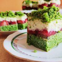 Ispanaklı Kek - przepis na ciasto LEŚNY MECH w wersji fit