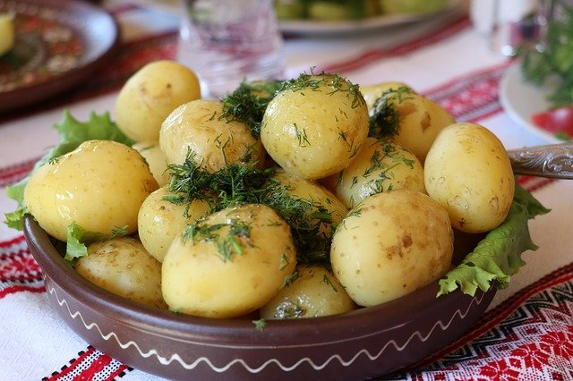 ziemniaki kartofle pyry koperek
