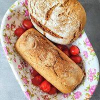 Domowy chleb mieszany na zakwasie i na drożdżach