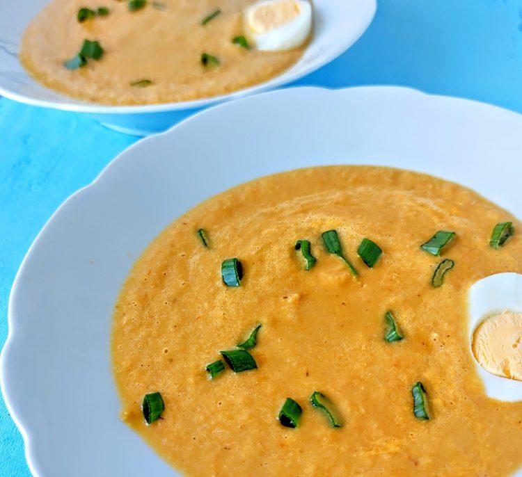zupa krem porowa